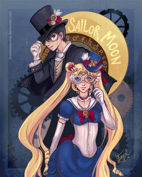 Steampunk Sailor Moon