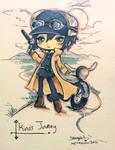 Kino's Journey Commission by StarMasayume