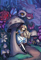 Alice in Wonderland by StarMasayume