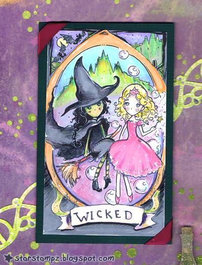 Wicked Elphaba and Glinda by StarMasayume