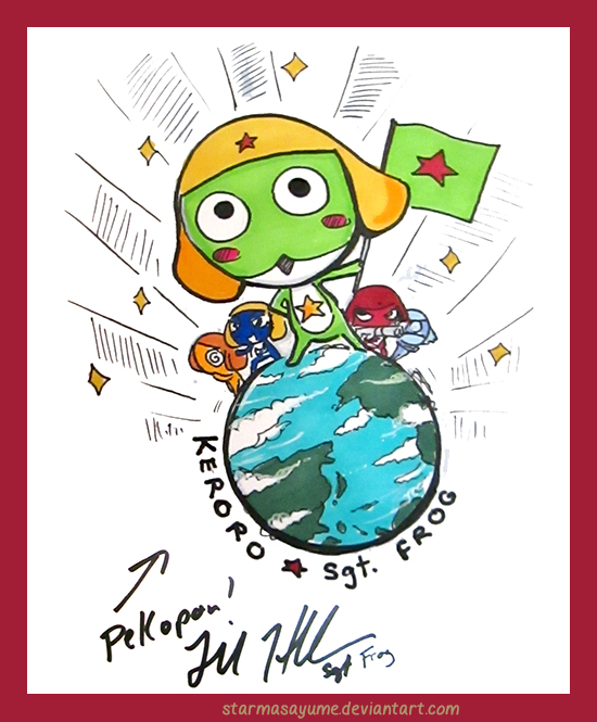 Sgt. Frog by StarMasayume