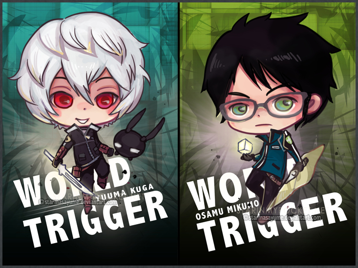 World Trigger Osamu and Yuuma by StarMasayume