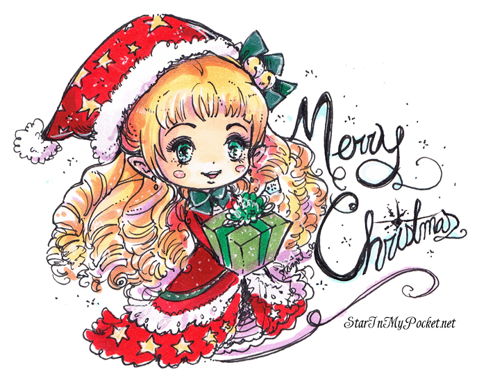 Merry Christmas Elf by StarMasayume on DeviantArt