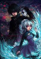 Darker Than Black Hei and Yin by StarMasayume