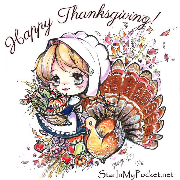 Thanksgiving Harvest by StarMasayume