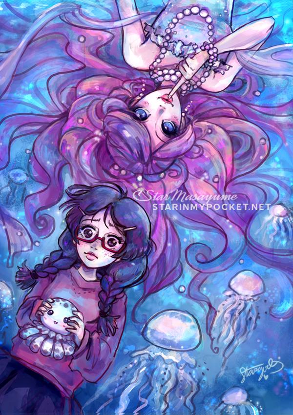 PrincessJellyfish by StarMasayume