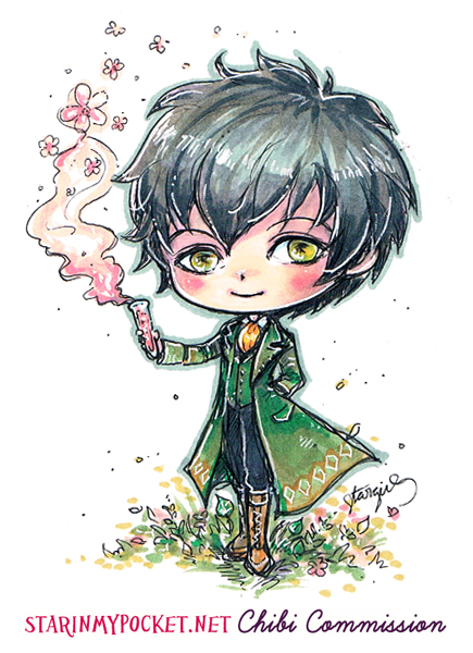 Klaus Chibi Commission by StarMasayume