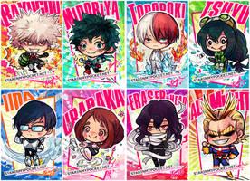 My Hero Academia Chibi  Set by StarMasayume