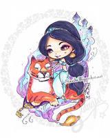 Princess Jasmine by StarMasayume