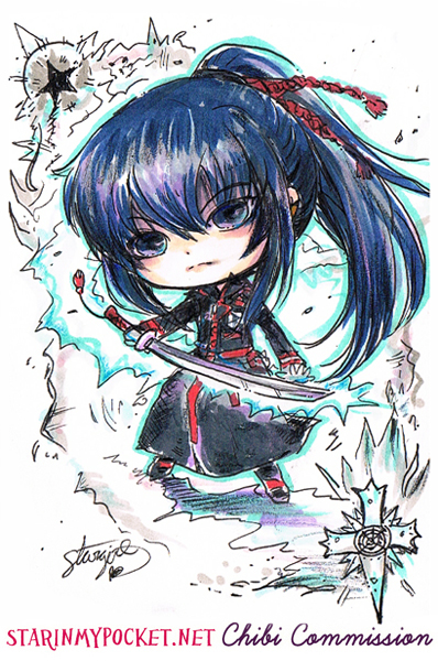 Kanda D.Gray-Man Commission by StarMasayume