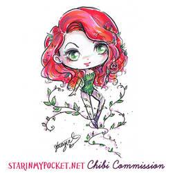 Commission Poison Ivy Chibi