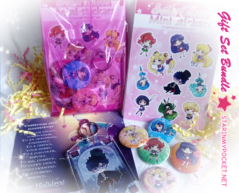 Sailo Moon Gift Set by StarMasayume