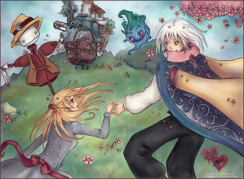 Howl's Moving Castle By StarMasayume On DeviantArt