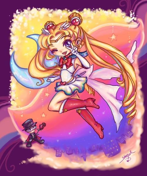 Kawaii Sailor Moon by StarMasayume