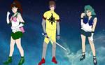 Armored Saint's Senshi Team by PhantomThief7