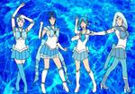 Blue Sailor Senshi by PhantomThief7