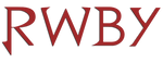 RWBY logo red by PhantomThief7