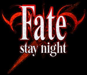 Fate stay night logo by PhantomThief7