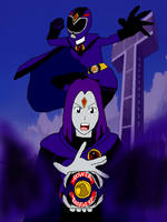 Its Morphin Time -Raven- by PhantomThief7