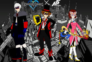 Keyblade Phantom Thieves  by PhantomThief7