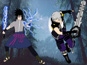 Sasuke Uchiha vs Riku -Remake-