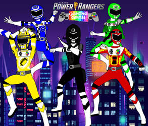 Power Rangers Gaming Gear -Poster-