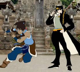 Jotaro Kujo vs Korra
