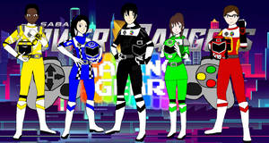 Power Rangers Gaming Gear -Introductions-
