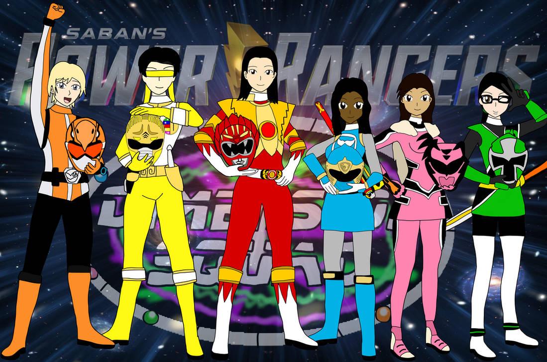 Power Rangers Dimension Squad