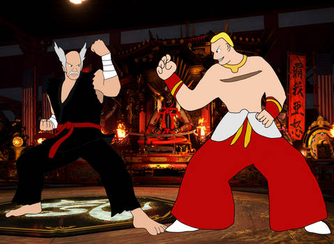 Heihachi Mishima vs Geese Howard