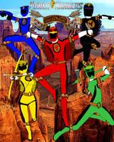 Power Rangers Spirit Natives -Poster-
