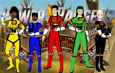 Power Rangers Spirit Natives