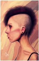 Lisbeth Salander by BarTouv