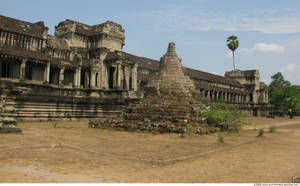Photo of Angkor Wat Template by environment-textures