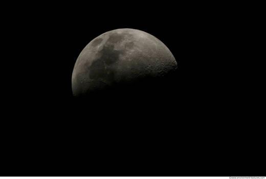 Photo Texture of Moon 0001