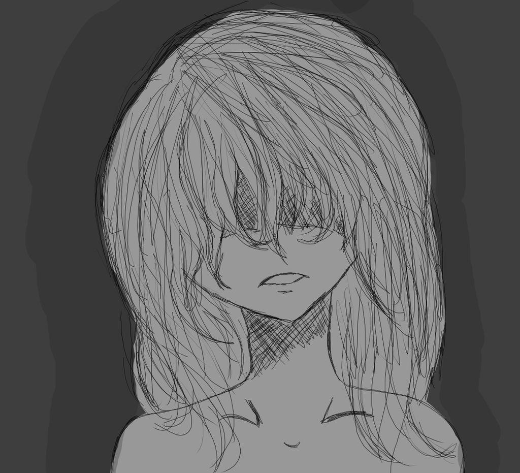 Depressed anime girl no 2 by sassylils on deviantart