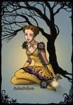 Skydancer on Earth as a fairy