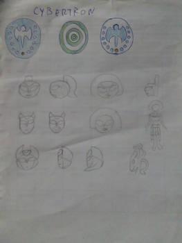 Random sketches 3