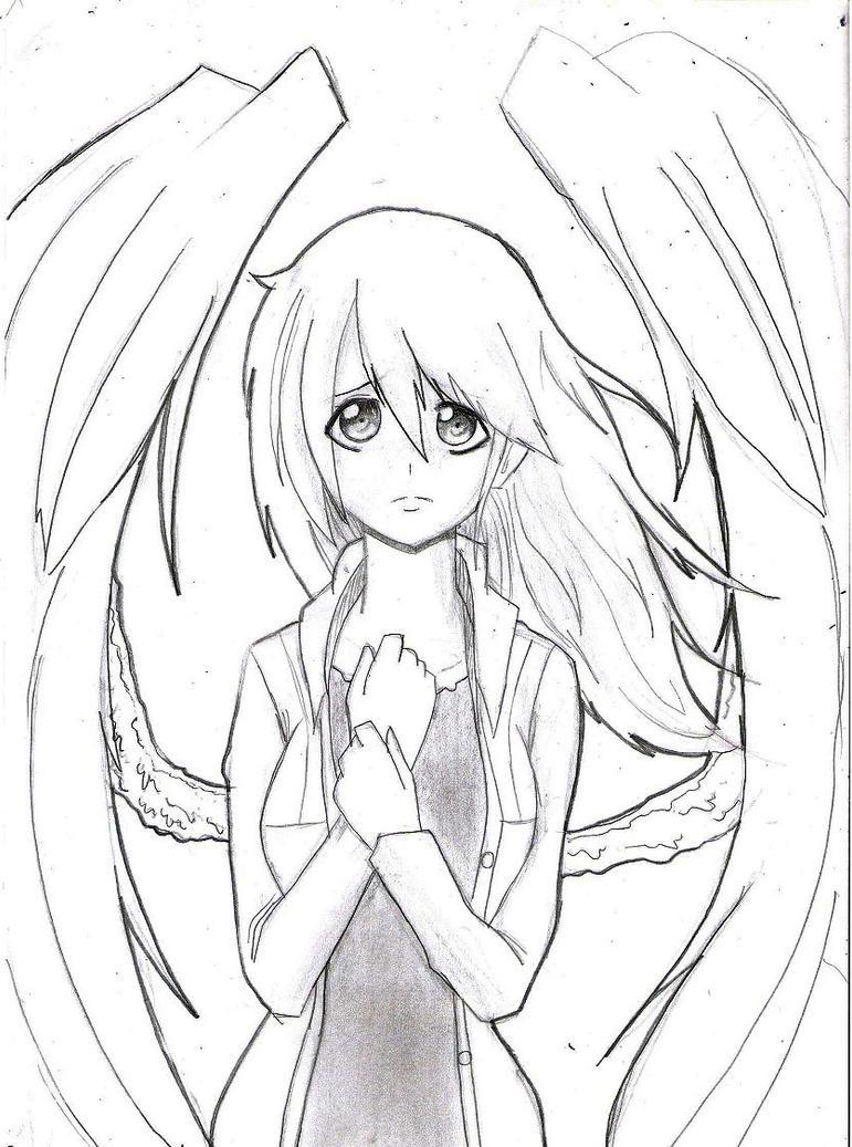 Imagenes De Anime Para Colorear