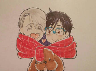Yuri on ice by Seemina