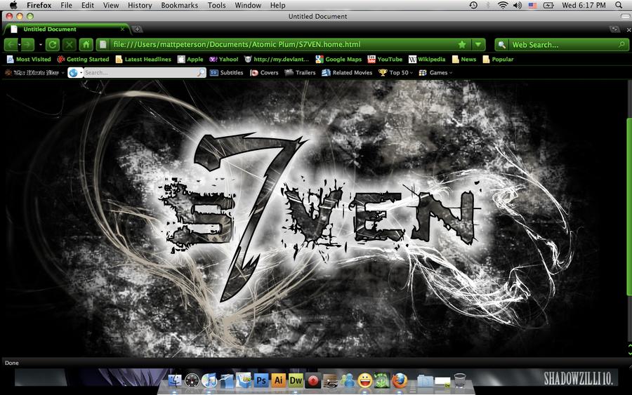 S7VEN hompage by DrummerWolf