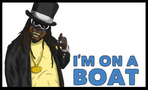 I'm On A Boat -T-Pain Anthro-