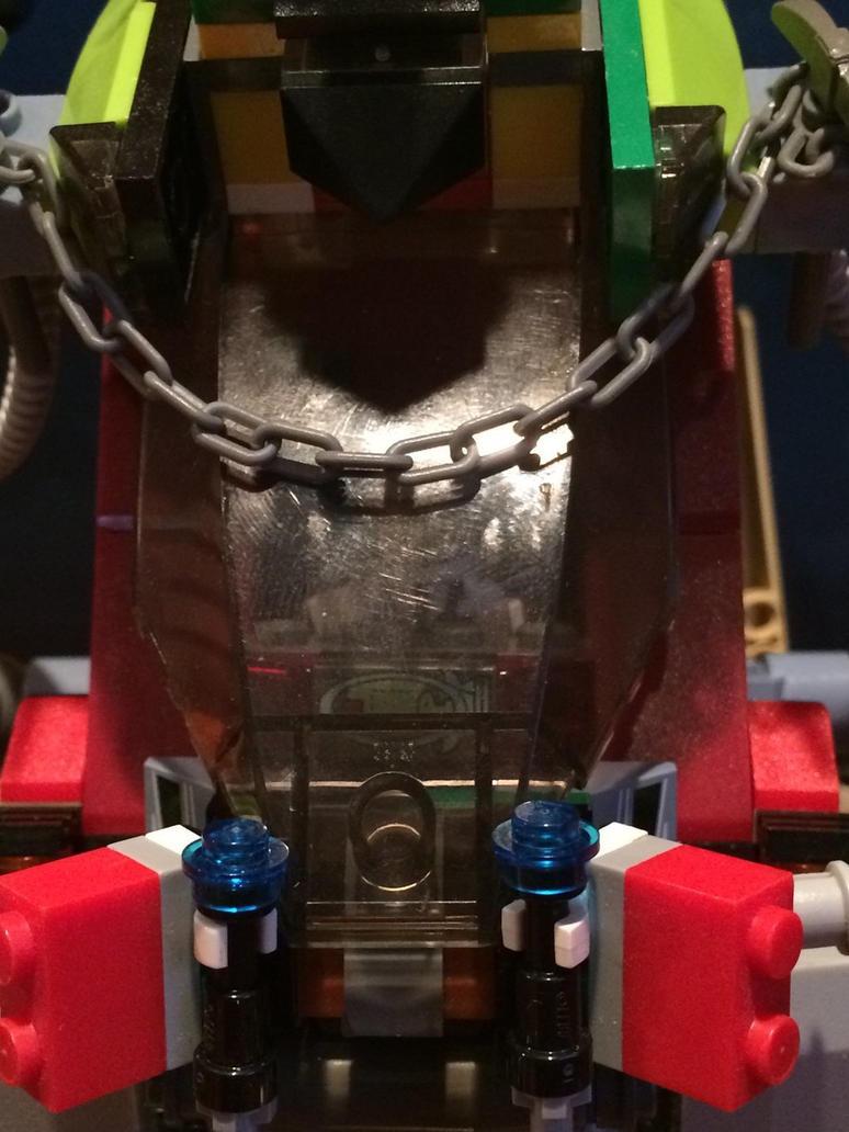 Mega build mech ((cockpit close up view)) by Trueblur1