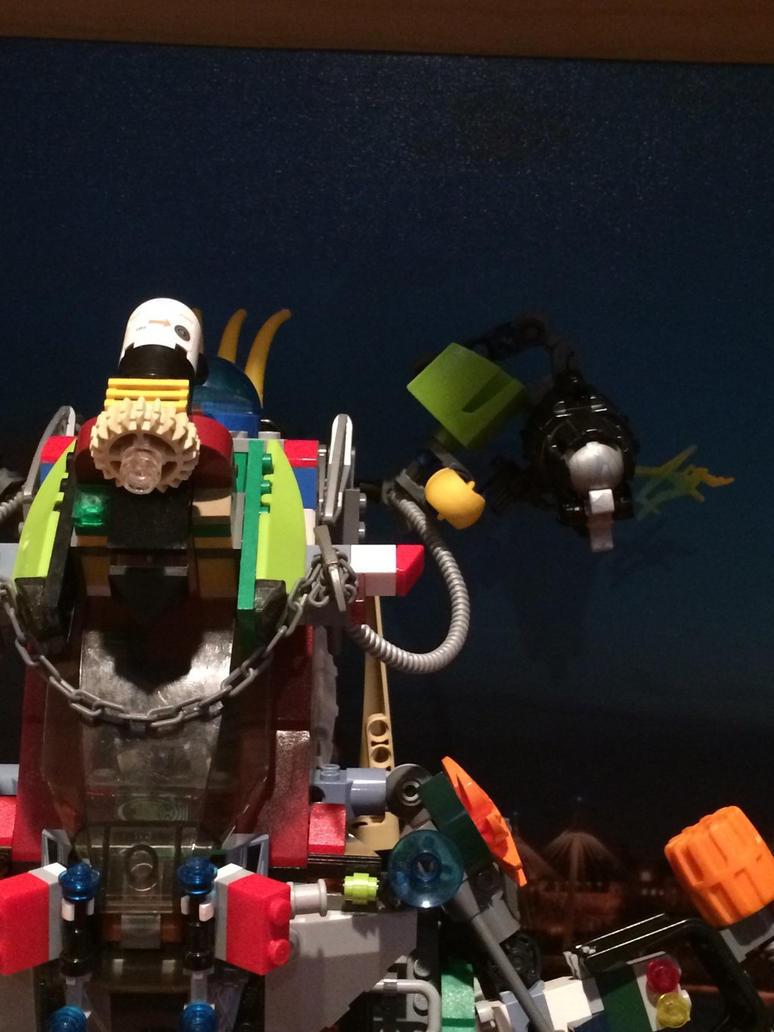 Mega build mech ((top left front close up)) by Trueblur1