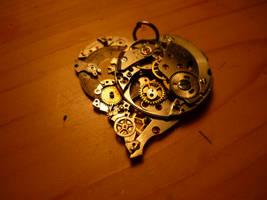 SteamPunk Heart by Cherryred5