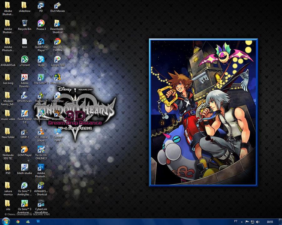 Screenshot desktop KH3D wall official