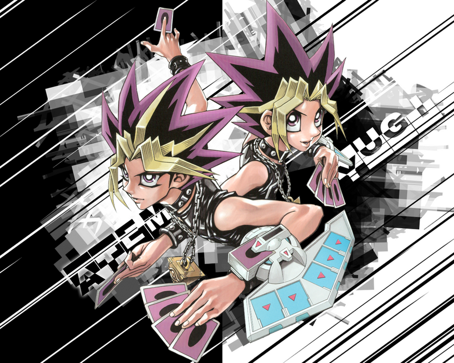 Yin and Yang YuGiOh by worldstraveller