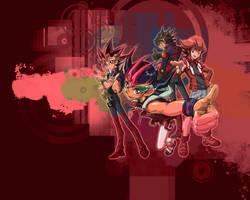 YuGiOh series Wallpaper by worldstraveller