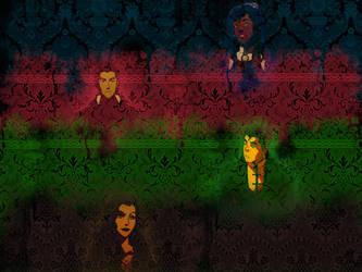Team Avatar - Legend of Korra Wallpaper version 2