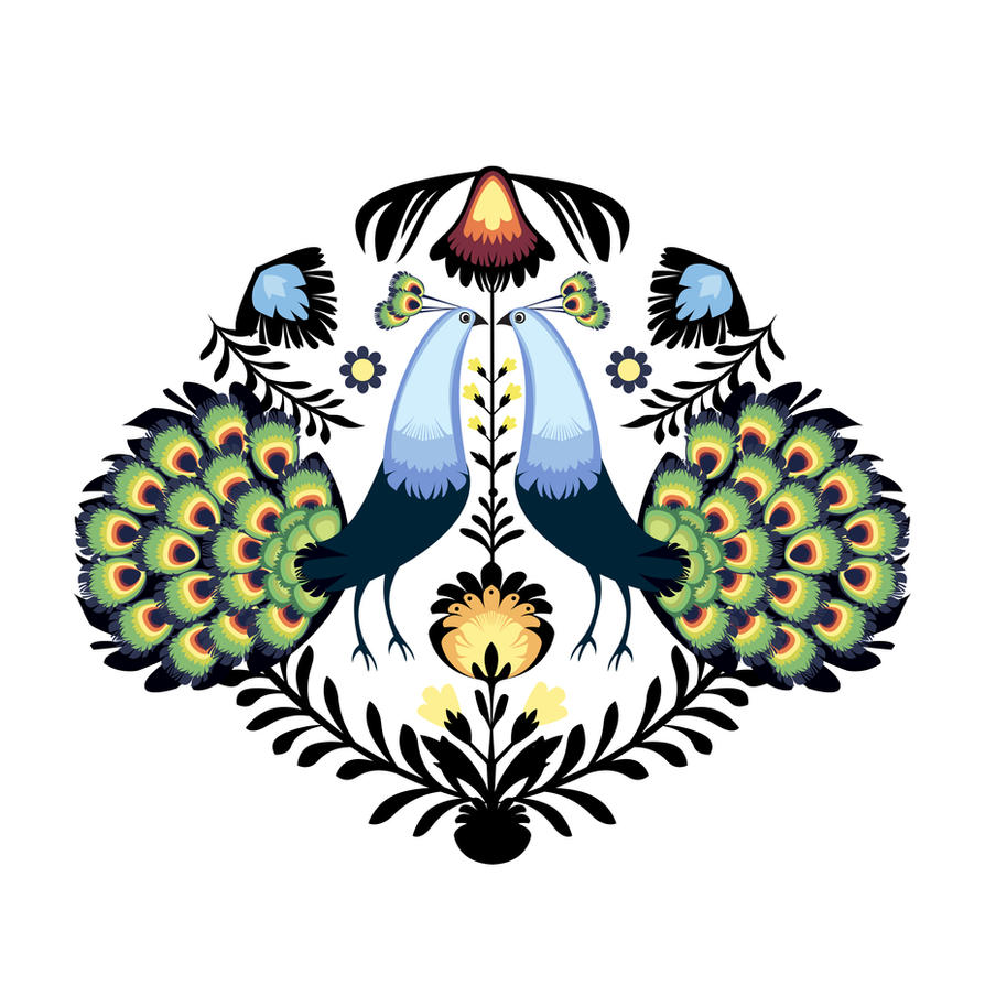 Peacocks by PodwojneD
